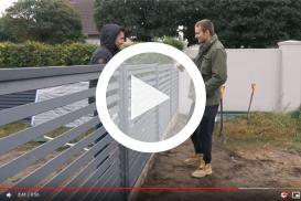 Jak wybrać i zamontować ogrodzenie. Wizyta u Adbustera!