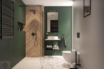 Zalety i wady prysznica walk-in