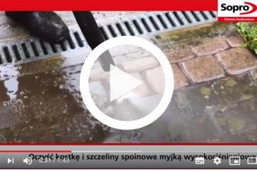 Poznaj fugę drenażową Sopro Solitär® F20, która trwale chroni przed porostami roślinnymi
