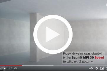 Co można zrobić żeby tynkować szybciej? Poznaj Baumit MPI 30 Speed!