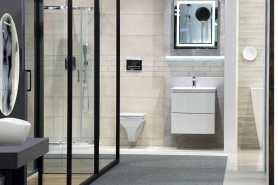 Biało-czarna łazienka - kontrasty w twojej łazience