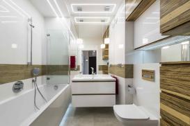 Źródła światła do nowoczesnej łazienki