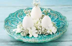 Wiosenna dekoracja stołu - DIY zrób to sam