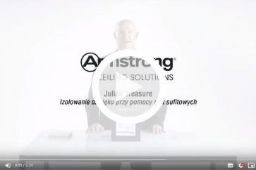 Julian Treasure: Izolowanie dźwięku przy pomocy płyt sufitowych Armstrong