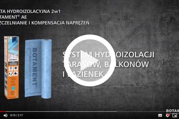 Botament AE hydroizolacja 2w1