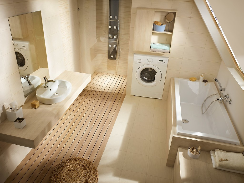 Funkcjonalna łazienka Na Poddaszu Grupa Psb Materiały