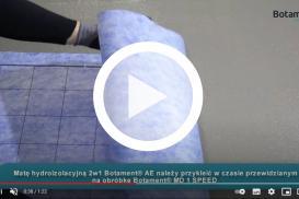 Hydroizolacja z BOTAMENT MD1 speed - instrukcja ułożenia