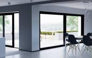 Nowoczesne okna i drzwi tarasowe