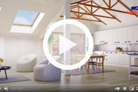 Akademia URSA - Izolacja dachu skośnego wełną mineralną