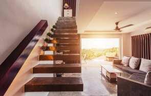 Schody wewnętrzne w domu