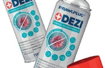 DEZI – środek do dezynfekcji w aerozolu - nowość