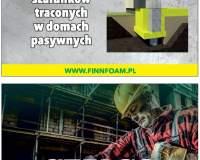 FINNFOAM - systemy szalunków traconych w domach pasywnych