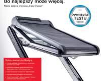 """ROTO - Roleta solarna z funkcją """"Wasy Charge"""""""