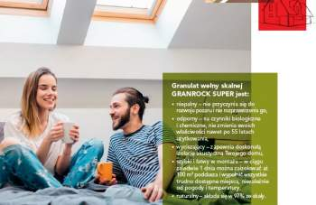 "ROCKWOOL - ""GRANROCK SUPER"" - Granulat wełny skalnej"