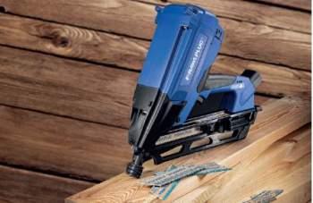 Gwoździarka gazowa do drewna R-WW90II niezastąpiona przy pracach dekarskich i konstrukcyjnych