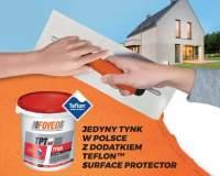 FOVEOTECH - Jedyny tynk w Polsce z dodatkiem Teflon Surface Protector