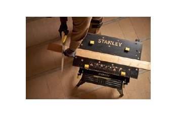 STANLEY® przedstawia przenośny stół warsztatowy z imadłem