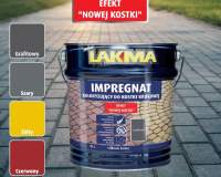 LAKMA - Impregnat koloryzujący do kostki brukowej