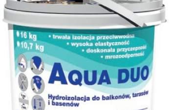 Hydroizolacja na balkonach AQUA DUO 822
