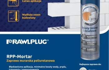 RAWPLUG - zaparwa murarska poliuretanowa