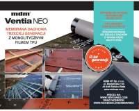 MDM NT - Membrana dachowa trzeciej generacji z monolitycznym filmem TPU