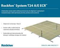 ROCKFON - Płyta sufitowa z systemem T24 A/E ECR