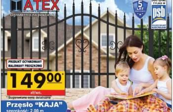 """ATEX - Przesło ogrodzeniowe """"KAJA"""""""