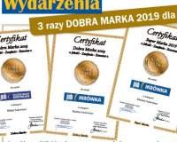 3 razy DOBRA MARKA 2019 dla PSB