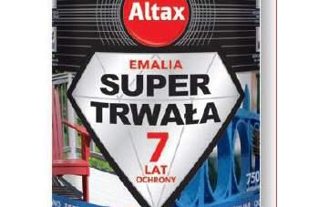 Nowość 2016 – Altax Emalia Super Trwała