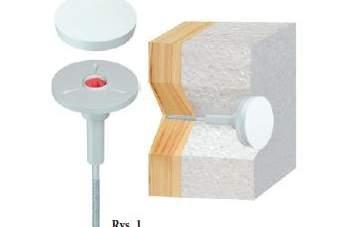 Innowacyjne łączniki KLIMAS WKRĘT-MET do termoizolacji ścian w systemach ETICS