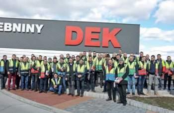 Wyjazd szkoleniowy do firmy DEK w Czechach