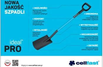 CELLFAST - Nowa jakość szpadli