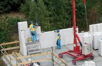 Szybka budowa z wielkowymiarowych bloków silikatowych