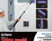 BLUE DOLPHIN - Taśma Washi