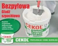 CEKOL - Bezpyłowa gładź szpachlowa