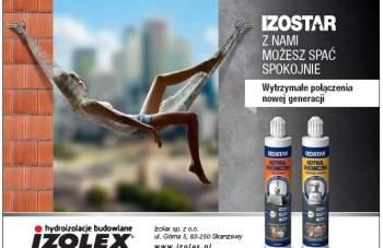 """IZOLEX - """"Izostar"""" - wytrzymałe połączenia nowej generacji"""