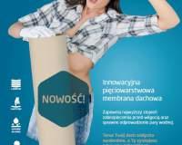FOLIAREX - pięciowarstwowa membrana dachowa