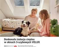 VELUX - Doskonała izolacja cieplna w oknach 3-szybowych