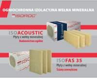 ISOROC - ogniochronna izolacyjna wełna mineralna