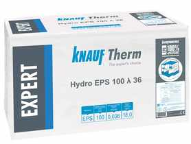 KNAUF Therm EXPERT Hydro EPS 100  λ 36