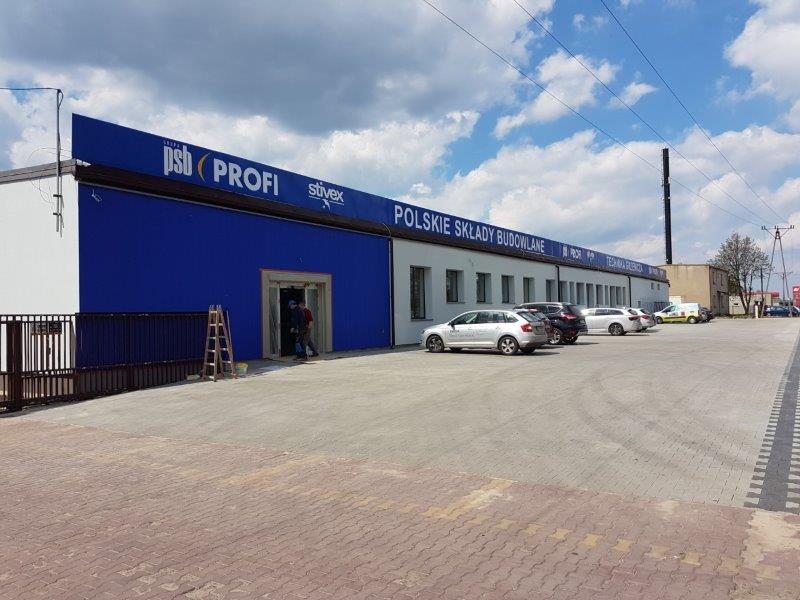 Psb Profi Stivex Bełchatów łódzkie Nowoczesne Składy