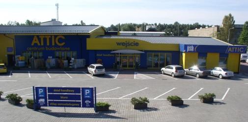 ATTIC CENTRUM BUDOWLANE Kraków ul. Zawiła